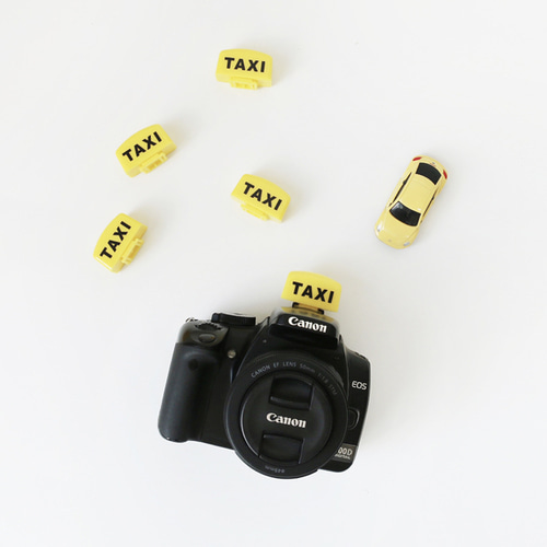 Taxi camera hot shoe cap cover