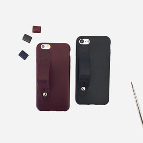 Leather jelly iPhone Case